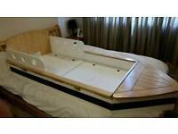 Toddler boat bed