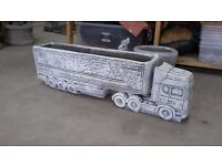 Scania Truck Lorry planter stone