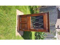Oak cabinet Drinks/Entertainment Cabinet £20