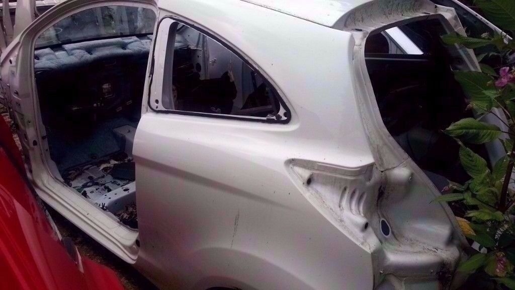 Ford Ka Nsr Passengers Side Rear Quarter Panel Cut Out In White