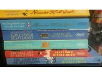 Selection of 6 Alexander McCall Smith books