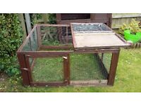 Rabbit/Guinea Pig Run, used but in reasonable condition