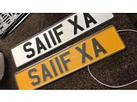 SAIF SAIF.A NUMBER PLATE REGISTRATION