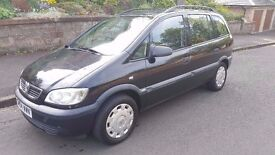 2004 Vauxhall Zafira Life 1.6 Petrol 7 Seater Good Condition Only 750