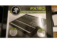 Mackie ProFX12v2 analogue mixer boxed as new used half dozen times.