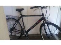mans hybrid bike in good condition