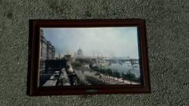 Framed: The Embankment from Somerset House