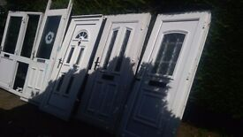 5 upvc doors all to clear buyer can have the lot hence FREE delivery 20 mile radius