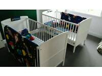 Cot beds. 3different levels.