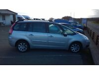citroen c4 picasso plus vtr hdi automatic, 7 seater, 1600cc turbo diesel, 91,000 miles , new mot