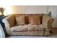 Two seater sofa for sale, from Marks & Spencer, £130