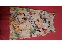 girls zara dress 4/5