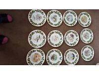 Royal Grafton Twelve Days of Christmas plates 1976-1987