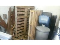 Free Pallets Ideal for Firewood