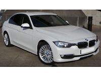 2012(62) BMW 320 Luxury Edition, Full Leather, Prof. Media, FSH, HPI Clear, Nav, Sensors, Sports!