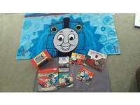 Thomas the Tank books & Fleece Blanket