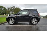 Gloss black Toyota RAV4 4X4, cheap car, (not freelander, x trail, dacia, mini, landrover, audi, bmw.