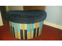 Pouffe with container
