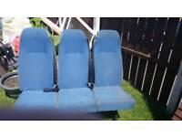 Crew cab seats