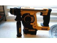 Bargain brand new dewalt sds with battery and charger
