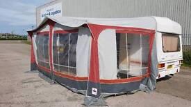 Dorema Size 10 - 5m x 2.5m Caravan Awning