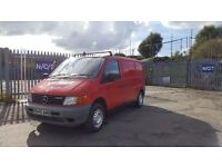 mercedes vito van one of the last mechanical engine