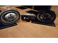 KENWOOD CD PLAYER USB AND 330W 6X9