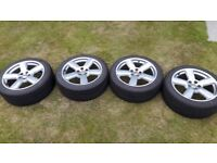 4 x 18' Audi RS6 Alloys w/ Falken tyres 225/45/18
