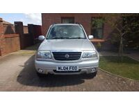04 SUZUKI GRANDE VITARA 1.6 16V SE IN SILVER ONLY 52K FSH LOVELY CONDITION INSIDE & OUT