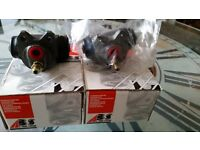 Pair of Ford Fiesta brake cylinders. New. Boxed