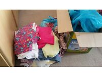 Box full of girls clothes 12 to 18 months