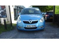 2012 VAUXHALL AGILA 1.2 AUTOMATIC 5 DR VERY LOW MILEAGE ONLY 6761 ml