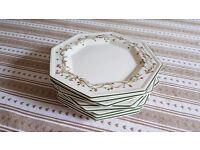 """Eternal Beau x8 Starter/Salad/ Dessert Plates 7 3/4"""""""