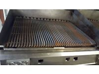 FALCON 3 BURNER NATURAL GAS COMMERCIAL CHAR GRILL PERI PERI GRILL KEBAB TAKEAWAY