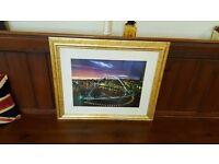 Newcastle Millennium bridge picture