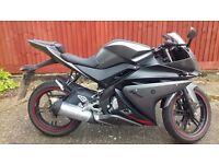 *FULL YEAR MOT* Yamaha YZF R125
