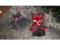 Girl dance costumes age 6