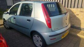 2003 Fiat Punto handbrake broken