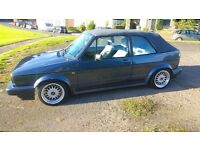 MK1 VW Golf Clipper Cabriolet 1989. Helios Blue. 1.8l MOT until June 2017