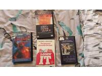 TOM CRUISE VHS COLLECTION EX RENTALS