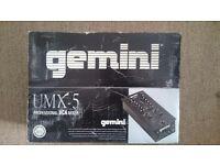Gemini UMX-5 Professional VCA Mixer