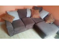 Small Corner Sofa Unit, Fire hazard safe
