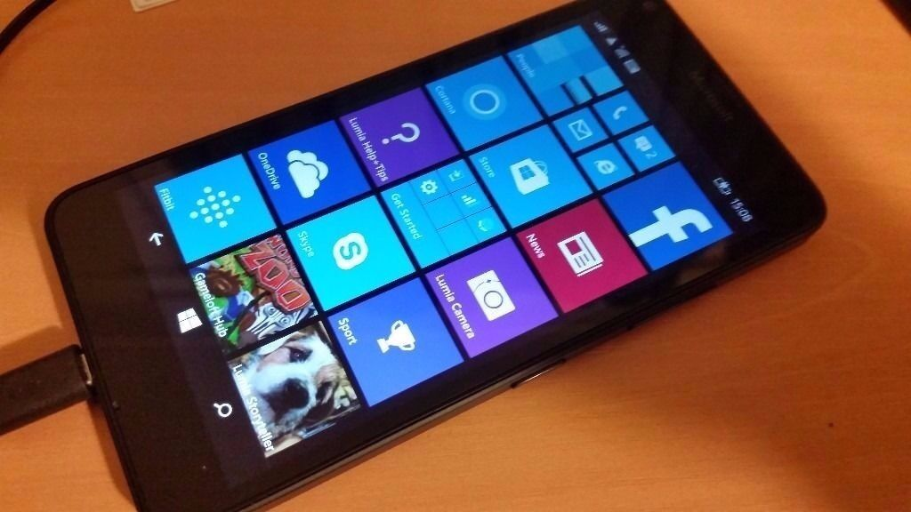 """MICROSOFT LUMIA 640,UNLOCKEDin Leytonstone, LondonGumtree - Microsoft Lumia 640 black colour good condition windows phone unlocked, works on any network 5"""" Screen, 8MP CAM, 1GB RAM All my items can be picked up in Leytonstone. Im located right on Leytonstone High road not far from the tube station and near..."""