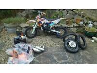 KTM 65cc motocross 2013 model
