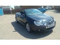 57 ! vw eos 20tdi sport 12months mot £3500 ovno may px swap
