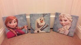 Disney Frozen canvases