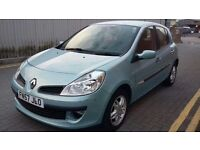 Renault Clio 1.5 dCi Rip Curl, 57 plate, 5dr,road tax £30 per year