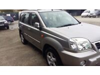 breaking silver KX4 nisan xtrail 2.2 turbo diesel 4x4 leather alloys parts spares