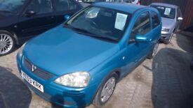 VAUXHALL Corsa Design 3 Door Hatchback, 1000cc Petrol, 2003-53 plate