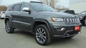 2017 Jeep Grand Cherokee OVERLAND 4X4 - ADAPTIVE CRUISE - ONLY 5